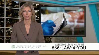 Keller, Fishback & Jackson TV Spot, 'Asbestos Legal Helpline' - Thumbnail 1