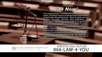 Keller, Fishback & Jackson TV Spot, 'Asbestos Legal Helpline' - Thumbnail 10