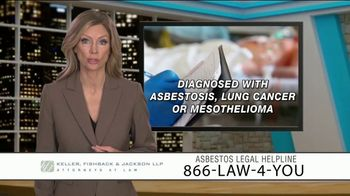 Keller, Fishback & Jackson TV Spot, 'Asbestos Legal Helpline' - Thumbnail 2