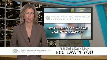 Keller, Fishback & Jackson TV Spot, 'Asbestos Legal Helpline' - Thumbnail 5