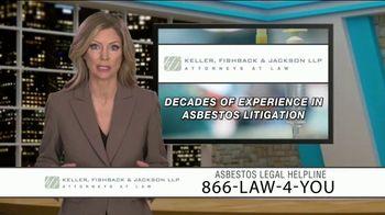 Keller, Fishback & Jackson TV Spot, 'Asbestos Legal Helpline' - Thumbnail 6