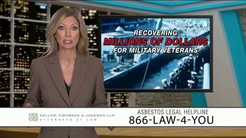 Keller, Fishback & Jackson TV Spot, 'Asbestos Legal Helpline' - Thumbnail 7