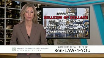 Keller, Fishback & Jackson TV Spot, 'Asbestos Legal Helpline' - Thumbnail 8