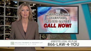 Keller, Fishback & Jackson TV Spot, 'Asbestos Legal Helpline' - Thumbnail 9