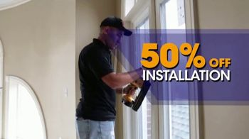 1-800-HANSONS TV Spot, 'Triple Pane Windows: 50 Percent Off Installation' - Thumbnail 3