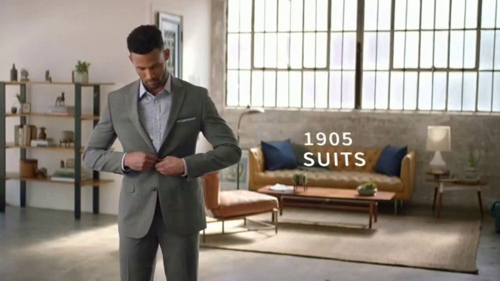 JoS. A. Bank 1905 Collection Event TV Commercial, '1905 Suits and Dress Shirts'