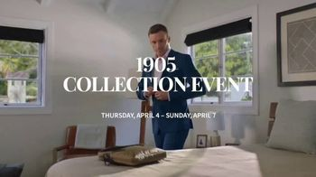 JoS. A. Bank 1905 Collection Event TV Spot, '1905 Suits and Dress Shirts' - Thumbnail 1