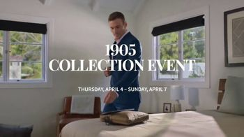 JoS. A. Bank 1905 Collection Event TV Spot, '1905 Suits and Dress Shirts' - Thumbnail 2