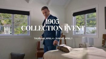 JoS. A. Bank 1905 Collection Event TV Spot, '1905 Suits and Dress Shirts' - Thumbnail 3