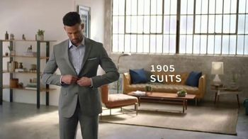 JoS. A. Bank 1905 Collection Event TV Spot, '1905 Suits and Dress Shirts' - Thumbnail 4