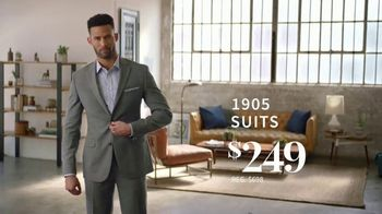 JoS. A. Bank 1905 Collection Event TV Spot, '1905 Suits and Dress Shirts' - Thumbnail 5
