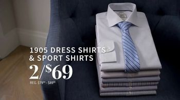 JoS. A. Bank 1905 Collection Event TV Spot, '1905 Suits and Dress Shirts' - Thumbnail 6