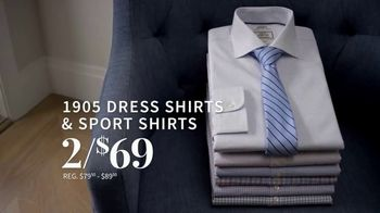 JoS. A. Bank 1905 Collection Event TV Spot, '1905 Suits and Dress Shirts' - Thumbnail 7