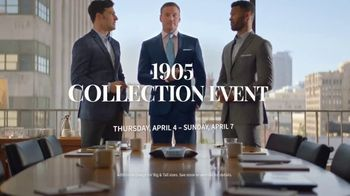 JoS. A. Bank 1905 Collection Event TV Spot, '1905 Suits and Dress Shirts' - Thumbnail 9