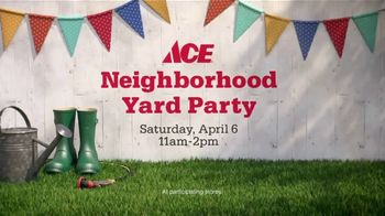 ACE Hardware Neighborhood Yard Party TV Spot, 'Your Backyard' - Thumbnail 7