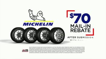 Tire Kingdom Big Brands Bonus Month TV Spot, 'Michelin Mail-In Rebate' - Thumbnail 4