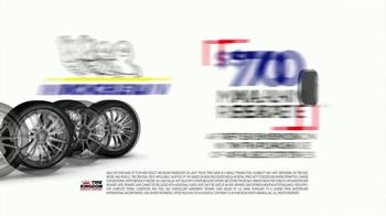 Tire Kingdom Big Brands Bonus Month TV Spot, 'Michelin Mail-In Rebate' - Thumbnail 6