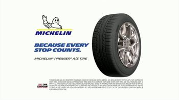 Tire Kingdom Big Brands Bonus Month TV Spot, 'Michelin Mail-In Rebate' - Thumbnail 8