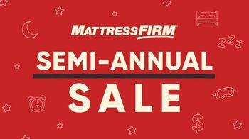Mattress Firm Semi-Annual Sale TV Spot, 'Top Rated Mattresses: Serta Memory Foam' - Thumbnail 1