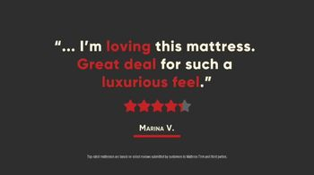 Mattress Firm Semi-Annual Sale TV Spot, 'Top Rated Mattresses: Serta Memory Foam' - Thumbnail 2