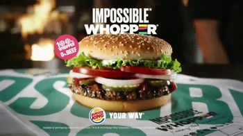 Burger King Impossible Whopper TV Spot, 'You're Not Gonna Believe This' - Thumbnail 7