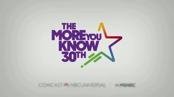 The More You Know TV Spot, 'Volunteering' Featuring Brian Williams - Thumbnail 10