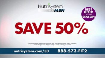 Nutrisystem For Men Spring Sale TV Spot, 'Perfectly Balanced' - Thumbnail 1