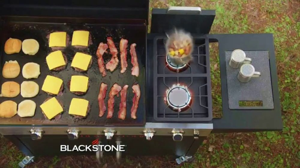 Blackstone TV Commercial, 'Range Top and Charcoal Griddle Combo'