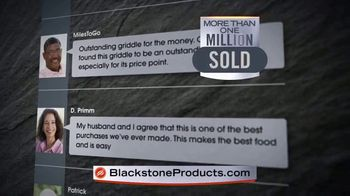 Blackstone TV Spot, 'Range Top and Charcoal Griddle Combo'