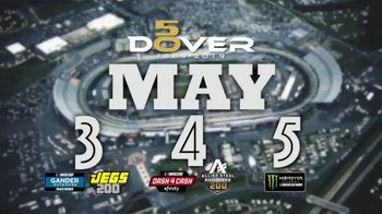 Dover International Speedway 50th Anniversary TV Spot, 'Be a Part of History' - 4 commercial airings