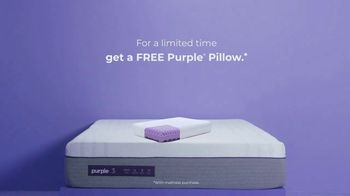 Purple Mattress TV Spot, 'Don't Let Your Mattress Steal Your Sleep: Pillow' - Thumbnail 10