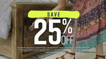 Ashley HomeStore Spring Home Event TV Spot, 'Full Bloom Savings' - Thumbnail 4