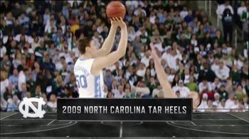 Lowe's TV Spot, 'CBS: Memorable Moments: 2009 North Carolina Tar Heels' - 1 commercial airings
