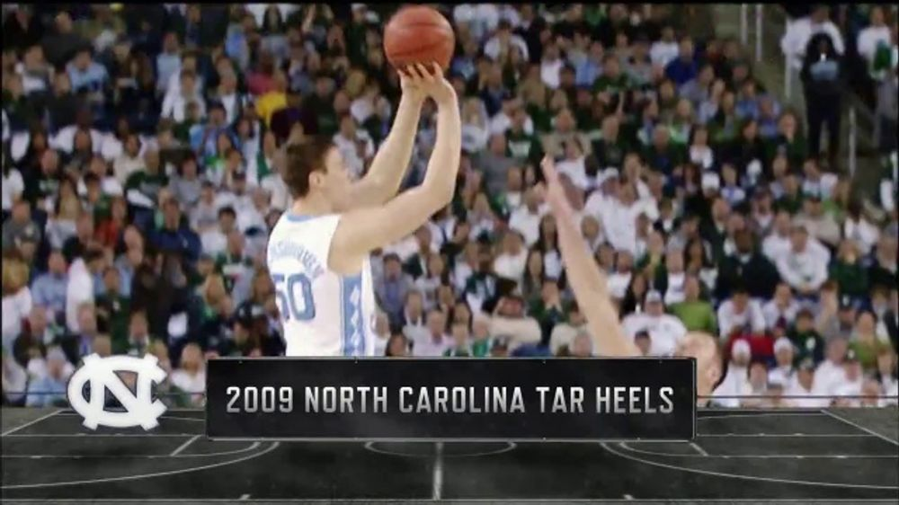 Lowe's TV Commercial, 'CBS: Memorable Moments: 2009 North Carolina Tar Heels'