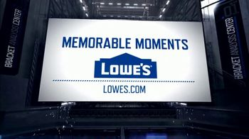 Lowe's TV Spot, 'CBS: Memorable Moments: 2009 North Carolina Tar Heels' - Thumbnail 9