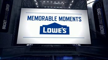 Lowe's TV Spot, 'CBS: Memorable Moments: 2009 North Carolina Tar Heels' - Thumbnail 1