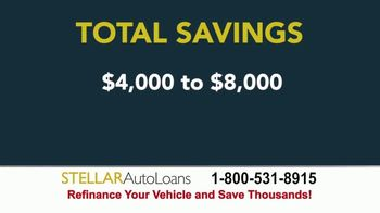 Stellar Auto Loans TV Spot, 'Refinance and Save Thousands'