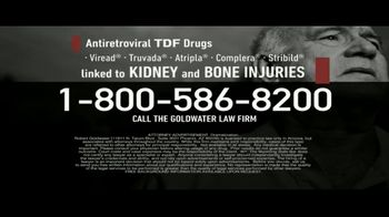 Goldwater Law Firm TV Spot, 'TDF Drugs' - Thumbnail 4