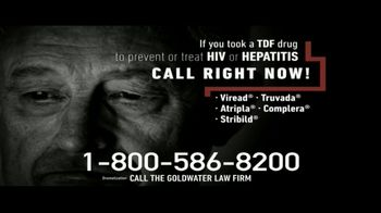 Goldwater Law Firm TV Spot, 'TDF Drugs' - Thumbnail 2