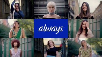 Always Ultra Thin TV Spot, 'Always My Fit: Portraits' - Thumbnail 2