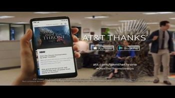 AT&T Thanks App TV Spot, 'The Office Throne' - Thumbnail 8