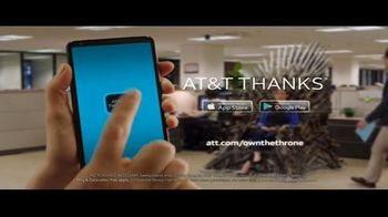 AT&T Thanks App TV Spot, 'The Office Throne' - Thumbnail 7