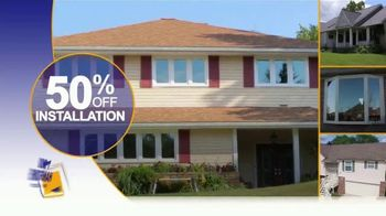 1-800-HANSONS Spring Fix-Up Sale TV Spot, 'Windows, Siding and Roofing' - Thumbnail 5
