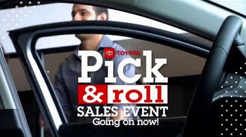 Toyota Pick & Roll Sales Event TV Spot, 'Roll Into Savings: 2019 Camry' [T2] - Thumbnail 10