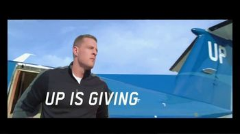 Wheels Up TV Spot, 'Up is Caring' Featuring Tom Brady, J.J. Watt, Russell Wilson - Thumbnail 4