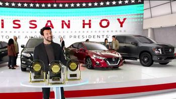 Nissan Ofertas de Presidents Day TV Spot, 'Grandes noticias' [Spanish] [T2] - 65 commercial airings