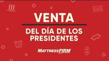 Mattress Firm Venta del Día de los Presidentes TV Spot, 'Colchones' [Spanish] - Thumbnail 1