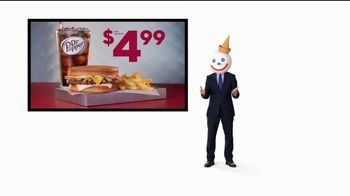 Jack in the Box Sourdough Patty Melt Combo TV Spot, 'Un precio que enamora' [Spanish] - Thumbnail 9