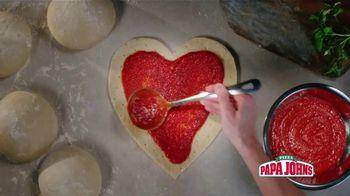 Papa John's Heart Shaped Pizza TV Spot, 'Share Your Heart With Your Valentine' - Thumbnail 5