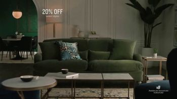 American Signature Furniture Presidents' Day Sale TV Spot, 'Great Moments: 20 Percent Off' - Thumbnail 6